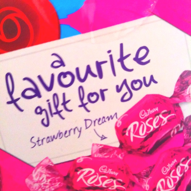 strawberry creams in a box by themselves :)