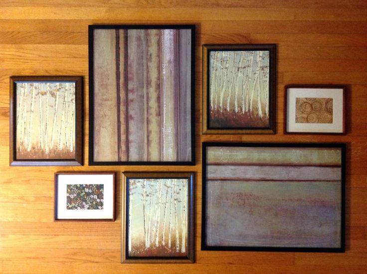 Best 25+ Photo wall arrangements ideas on Pinterest   Wall ...