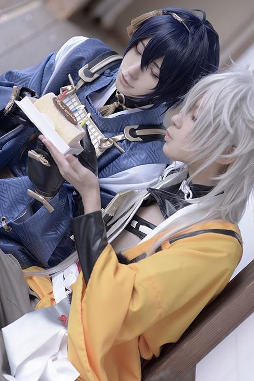 Touken Ranbu cosplay #birthday