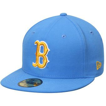 New Era UCLA Bruins Light Blue Basic 59FIFTY Fitted Hat