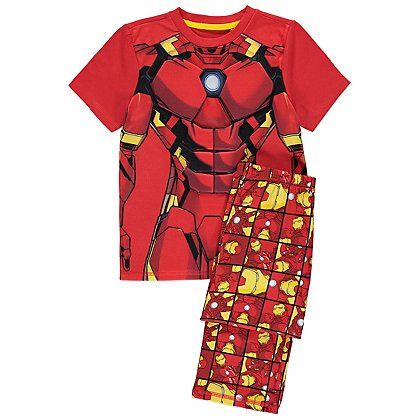 Marvel Avengers Iron Man Pyjamas | Kids | George