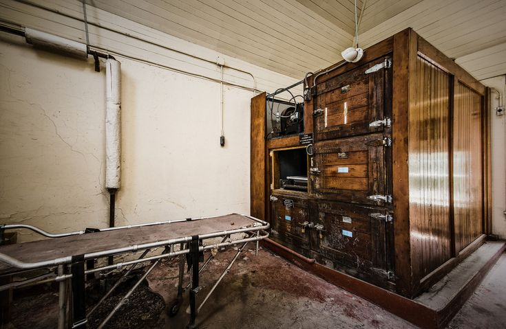 Willard Asylum, NY - The Morgue - Over the years more than 25,000 patients died and passed through here before it closed on 1995.