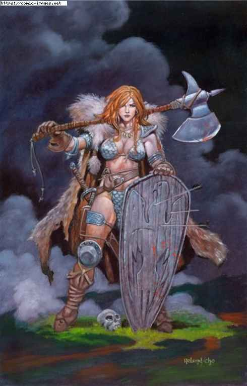 Red Sonja on comic-images.net :: CLICK TO ENLARGE