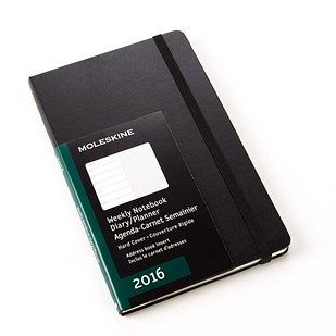 Moleskine weekly planner, $15–$25.95 | 11 Planners That Will Help You Get Your Shit Together In 2016