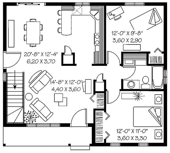 Charmant 153 Best Homes   Garage Apartment Plans Images On Pinterest | Arquitetura,  Garage Apartments And Floor Plans