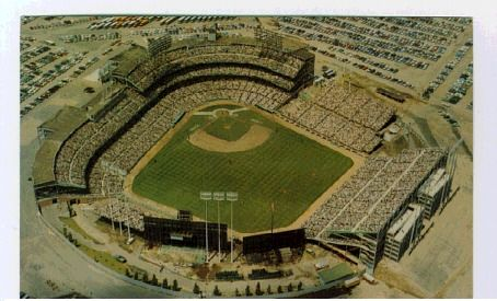 Minnesota Twins (Formerly the Washington Senators) Metropolitan Stadium. 1961-1981.