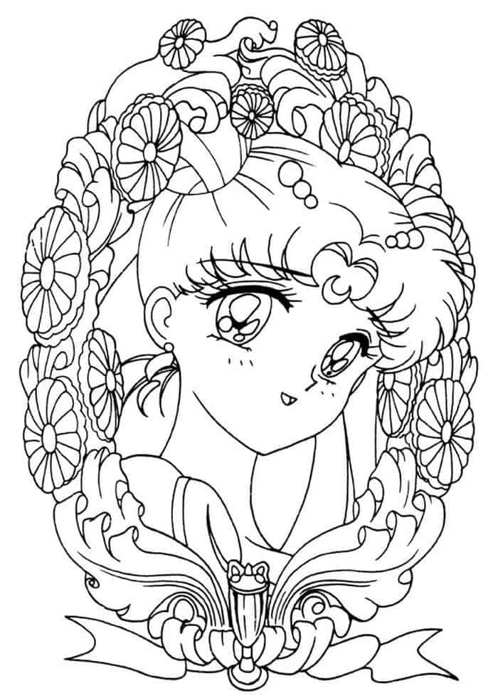 Abstract Sailor Moon Coloring Pages Sailor Moon Coloring Pages Moon Coloring Pages Sailor Moon Tattoo
