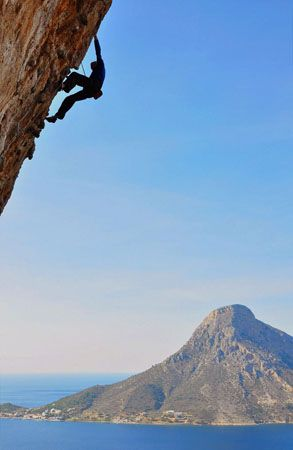 Climbing at Kalymnos