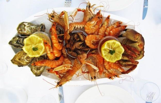 Merenelävät. Seafood.  http://www.mademoiselle-litti.com/ruoka/merenantimia-maistellessa/