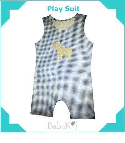 Comfortable BabyK Play Suit.