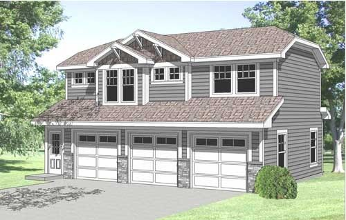 Best More Details In This 3 Car Garage With Second Floor One 400 x 300