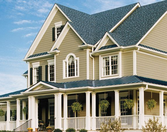 Certainteed Weatherboards Smooth Lap Siding In Heritage