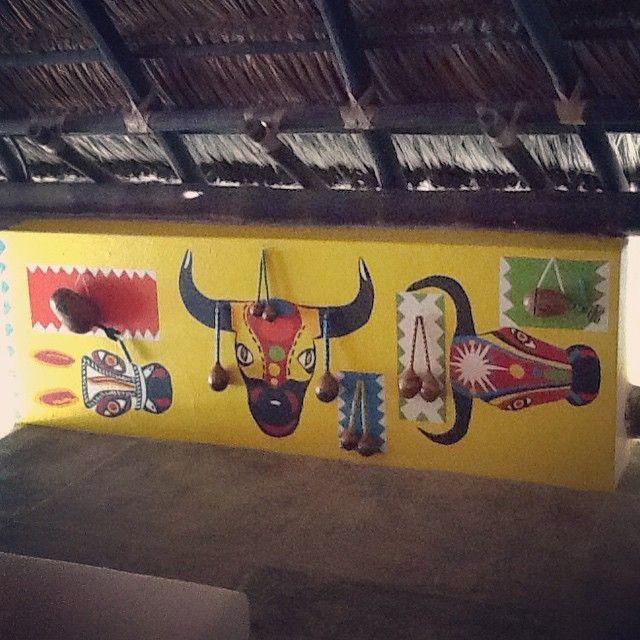 Mural carnaval de barranquilla.