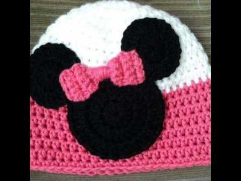 Gorros tejidos a crochet (modelos) - YouTube