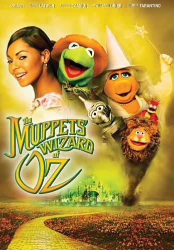 Directed by Kirk R. Thatcher.  With Ashanti, Jeffrey Tambor, Quentin Tarantino, David Alan Grier. This version of The Wizard of Oz is played by the Muppets!