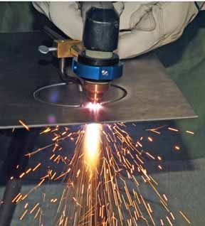 Plasma cutting techniques