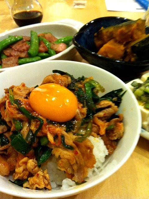 豚キムチ丼 - 豚キムチ丼 by ユカタン
