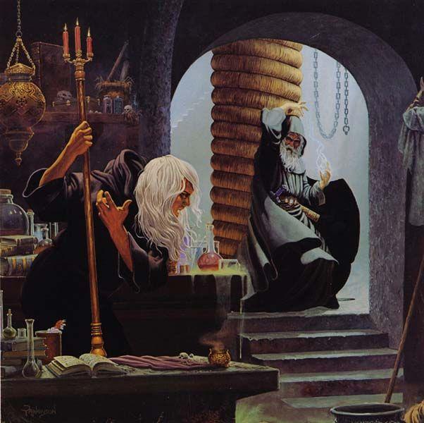 — Keith Parkinson  Dragonlance