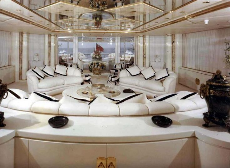 TIMOTHY BRAY'S BOARD-navigation h2o trb44.        ( Luxury super yacht interior)