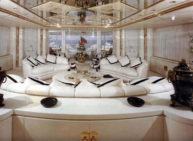 TIMOTHY BRAY'S BOARD-navigation h2o trb44.        ( Luxury super yacht interior)