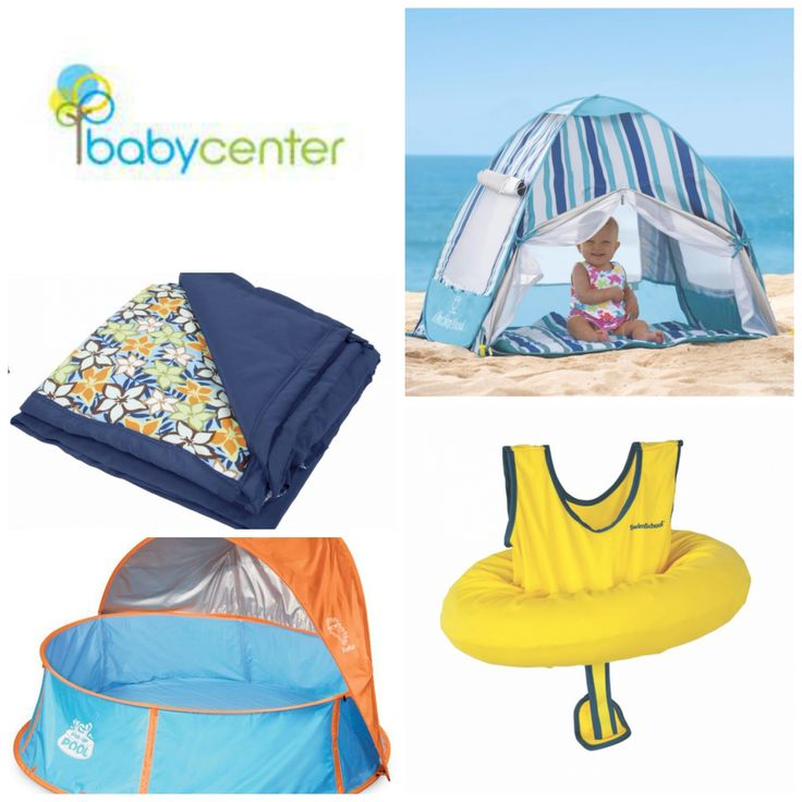 "BabyCenter.com: 12 Summer Products That Make Your Baby's Beach Day Safer.  ""If you have the right gear and plan ahead, a beach day is really fun and safe for everyone – even your infant...By the way, many of these summer products can be used in other sunny settings, like the pool, deck, splash pad or playground.  Check out these great products that I have found made my summer days simpler and more safe.."""