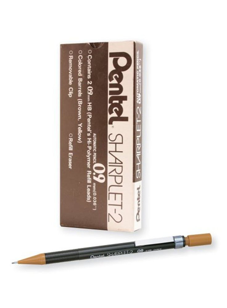 Pentel Sharplet-2 Mechanical Pencil, Brown Barrel, Box of 12 (A129E),   Safe and Secure Payments  Usually delivered in 5-7 days  Easy return and replacement  Gift wrap available  Accept Credit/Debit Card, Net Banking & COD | | https://shopping.acchajee.com/240293-pentel-sharplet-2-mechanical-pencil-brown-barrel-box-of-12-a129e.html