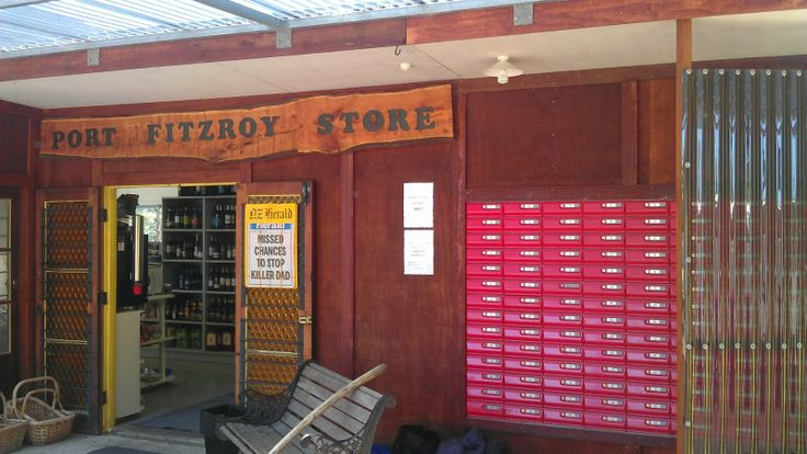 Spending some time on Great Barrier Island? A great place for a couple of beers is at the general store in Pt Fitzroy.