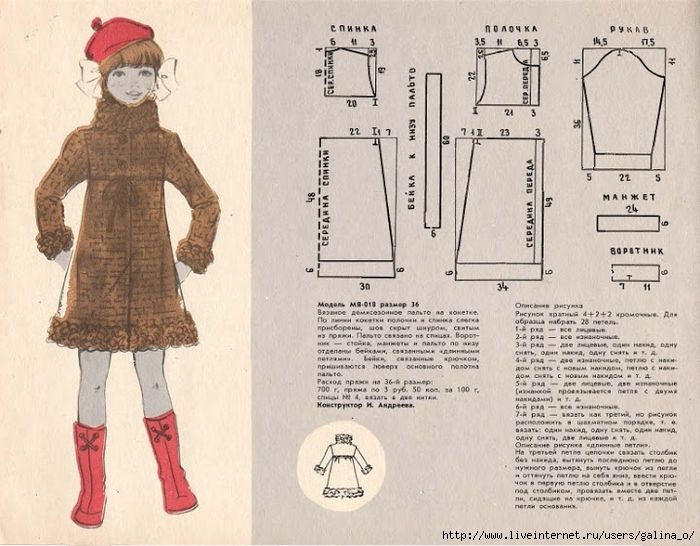 Выкройки детской одежды 80-х.. Обсуждение на LiveInternet - Российский Сервис Онлайн-Дневников