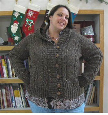 Central Park Hoodie Knitting Pattern Free : 1000+ images about Plus Size Knitting Patterns on Pinterest Vests, Knitting...
