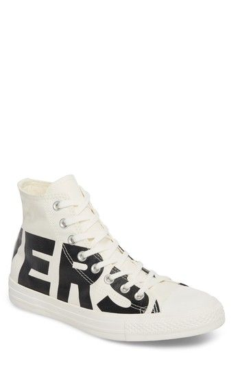 79836cd45e21 CONVERSE ONE STAR WORDMARK HIGH TOP SNEAKER.  converse  shoes ...