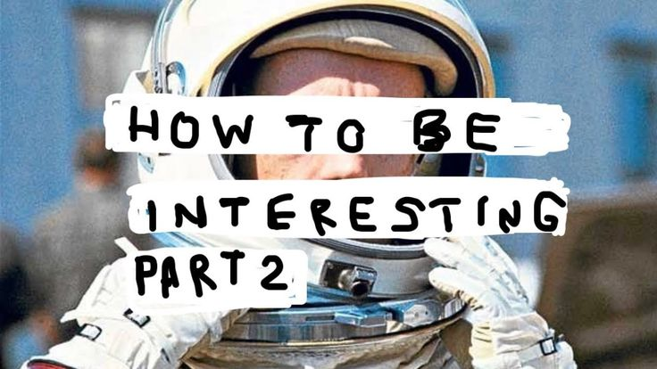 [video] how to be interesting http://bit.ly/2mvUxoF #motivation