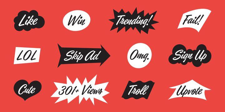 Eubie Script - Webfont & Desktop font « MyFonts