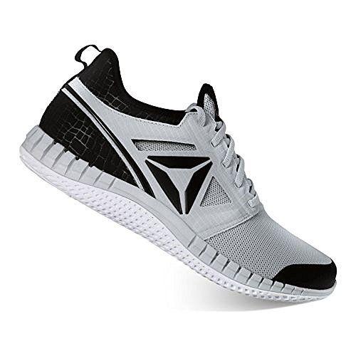 Reebok Mens Zprint Pro Running Shoe (13 D(M) US, Grey/Black)
