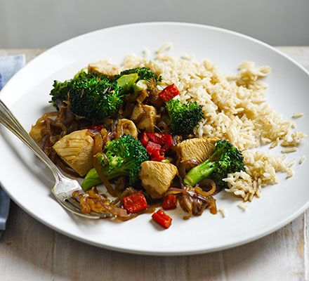 Combine lean chicken with super-healthy broccoli, ginger and garlic for a quick and cheap, weeknight dinner