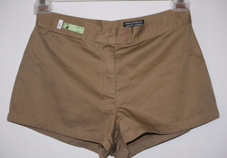 Polo Jeans Co Ralph Lauren Bronze Shorts Size 2 NWT $44 on Sale $17.99 Summer Fashion