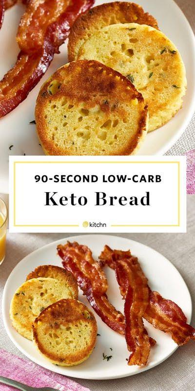Keto Bread Recipe Review - Low Carb 90 Second Bread | Kitchn