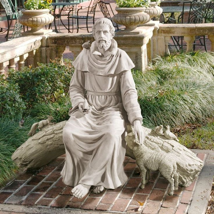 This is my fav - Have to have it. Design Toscano In Natures Sanctuary St. Francis Garden Statue $999.99