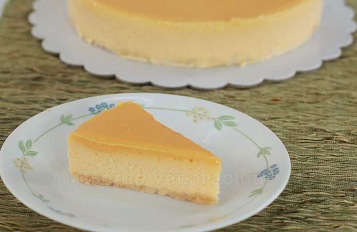 Basic cheesecake recipe in three sizes