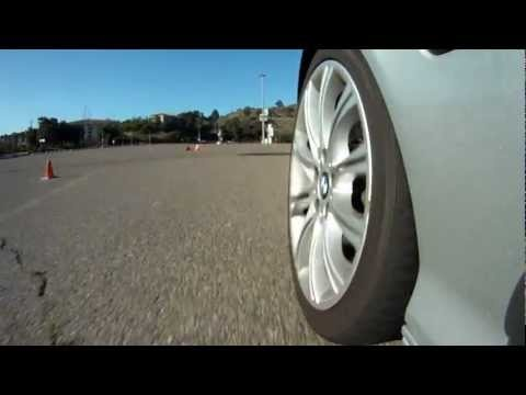 March 2012 Qualcomm Autocross - e46 330i zhp - Wheel shot