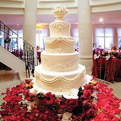 I cannot stand the taste of fondant. It will not be on my wedding cake. However, I'm having issues finding pictures of cakes that don't use any fondant. Seriously - TheKnot's giant photo database of cakes should be searchable based on buttercream vs. fondant! I want to know what's realistic for a…