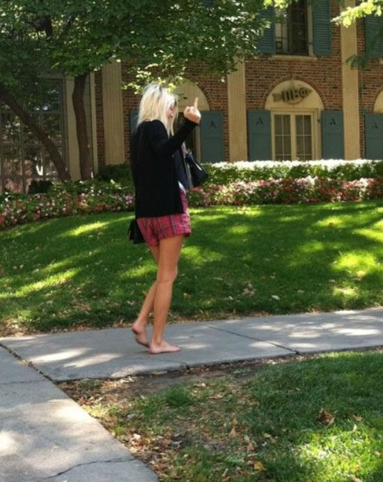 funny pictures of the walk of shame