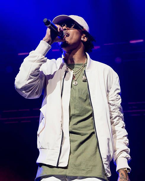 Recording artist August Alsina performs at Smoothie King Center on February 12, 2016 in New Orleans, Louisiana.