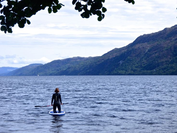 Looking for Nessie on Loch Ness. Read my blog!