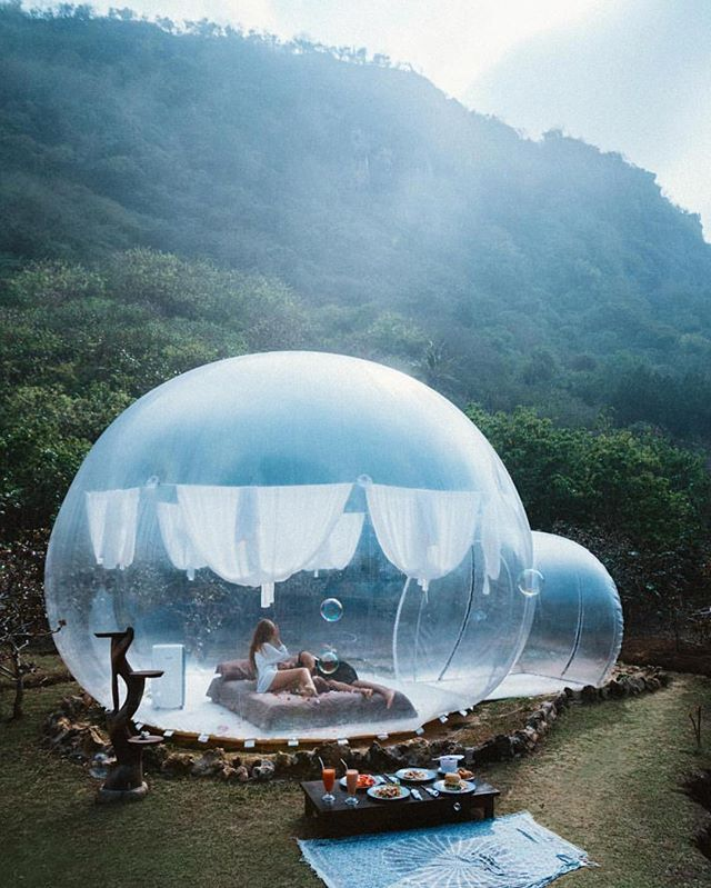 Bubble Hotel Bali: Fall Asleep Under The Stars In This