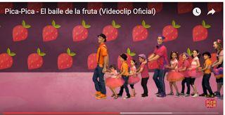Escuela infantil castillo de Blanca: EL BAILE DE LA FRUTA