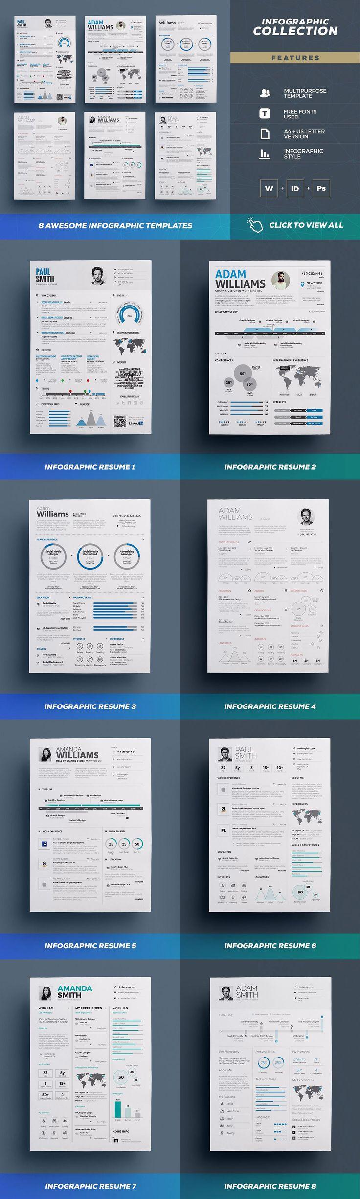 Entire Shop - Resume/Cv Bundle  by TheResumeCreator on @creativemarket