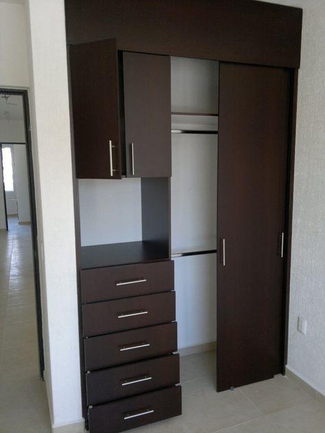 M s de 25 ideas incre bles sobre closet para cuartos for Roperos para habitaciones pequenas