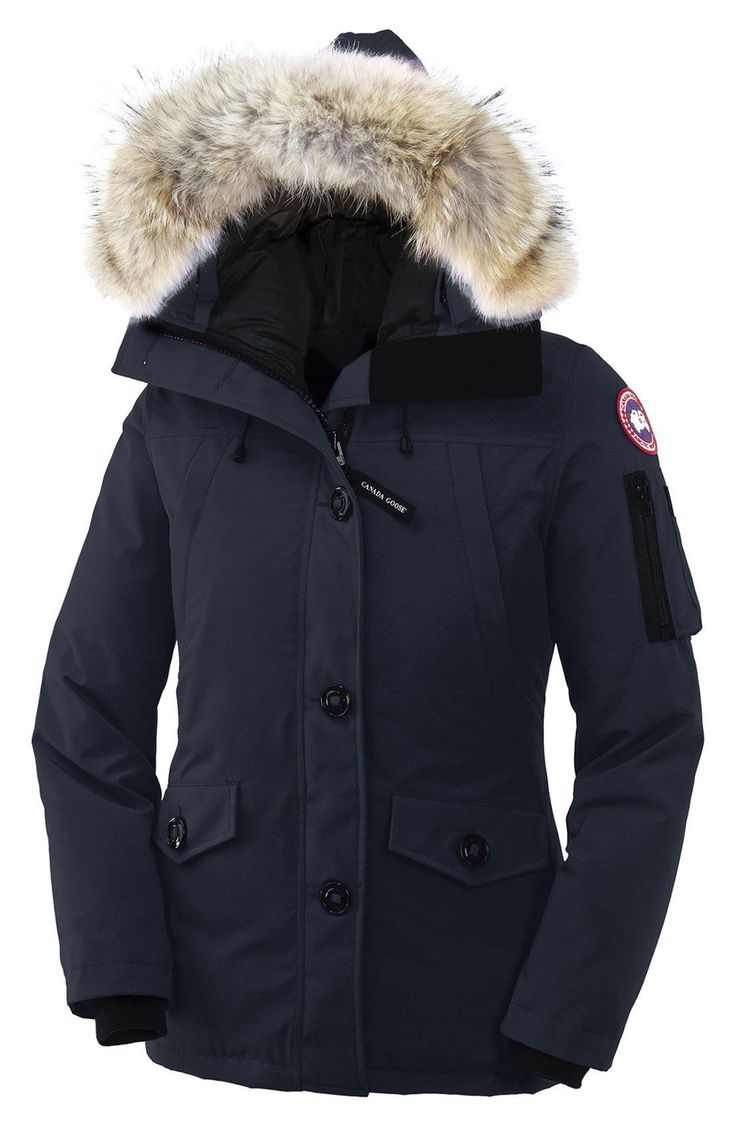 Or this Canada Goose 'Montebello' Slim Fit Down Parka. I must be freezing because all I can think about are coats!