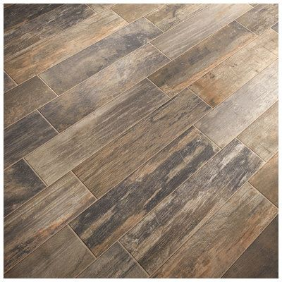 Mediterranea Tile Mountain Timber 6 X 24 Native