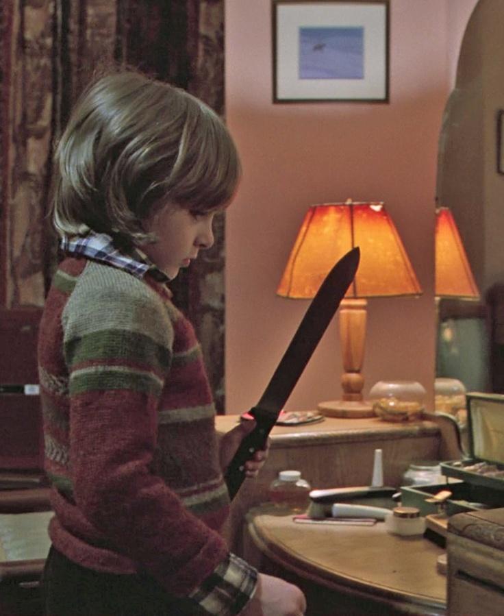 Danny Lloyd as 'Danny Torrance' in The Shining (1980)